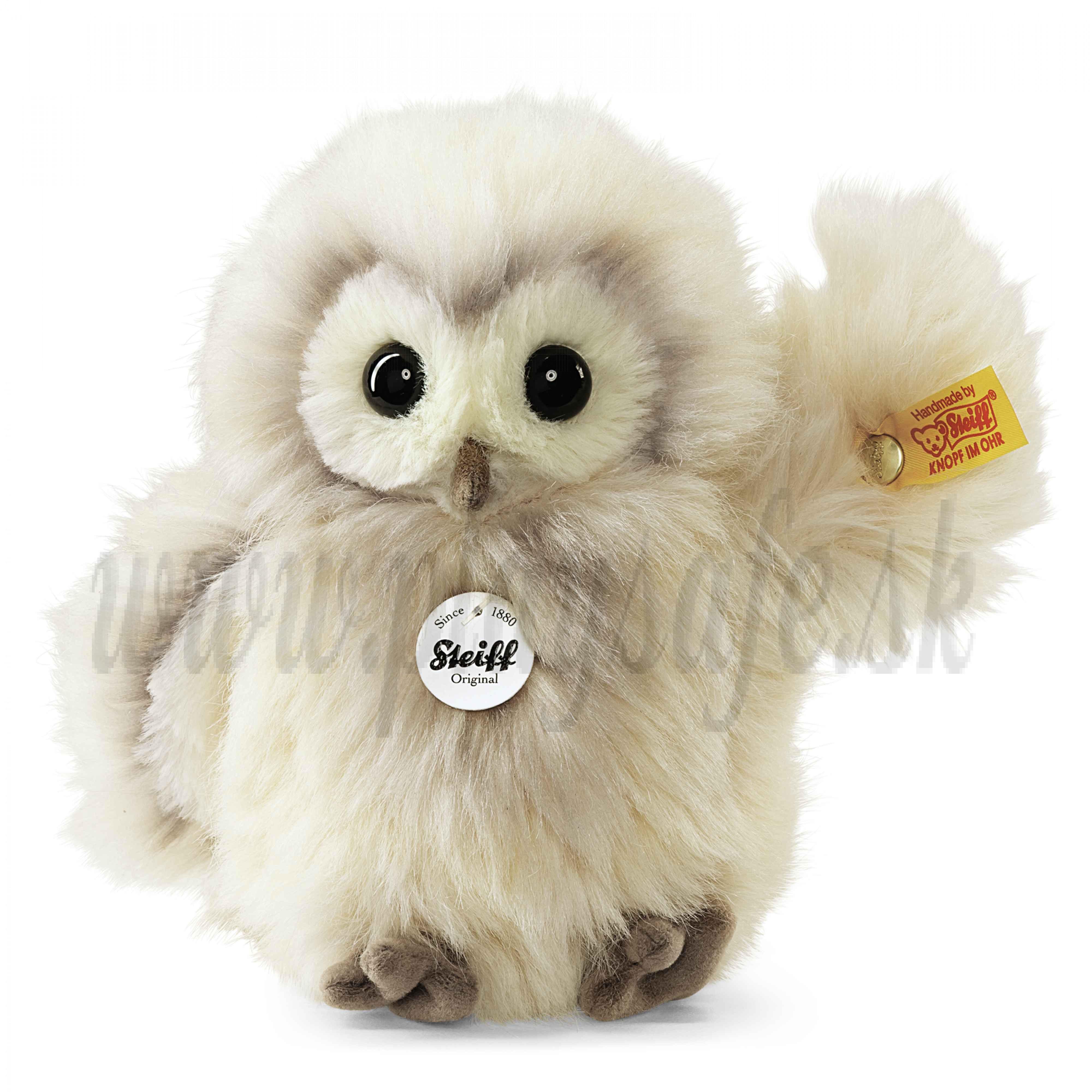 Steiff Soft toy Owl Wittie, 14cm