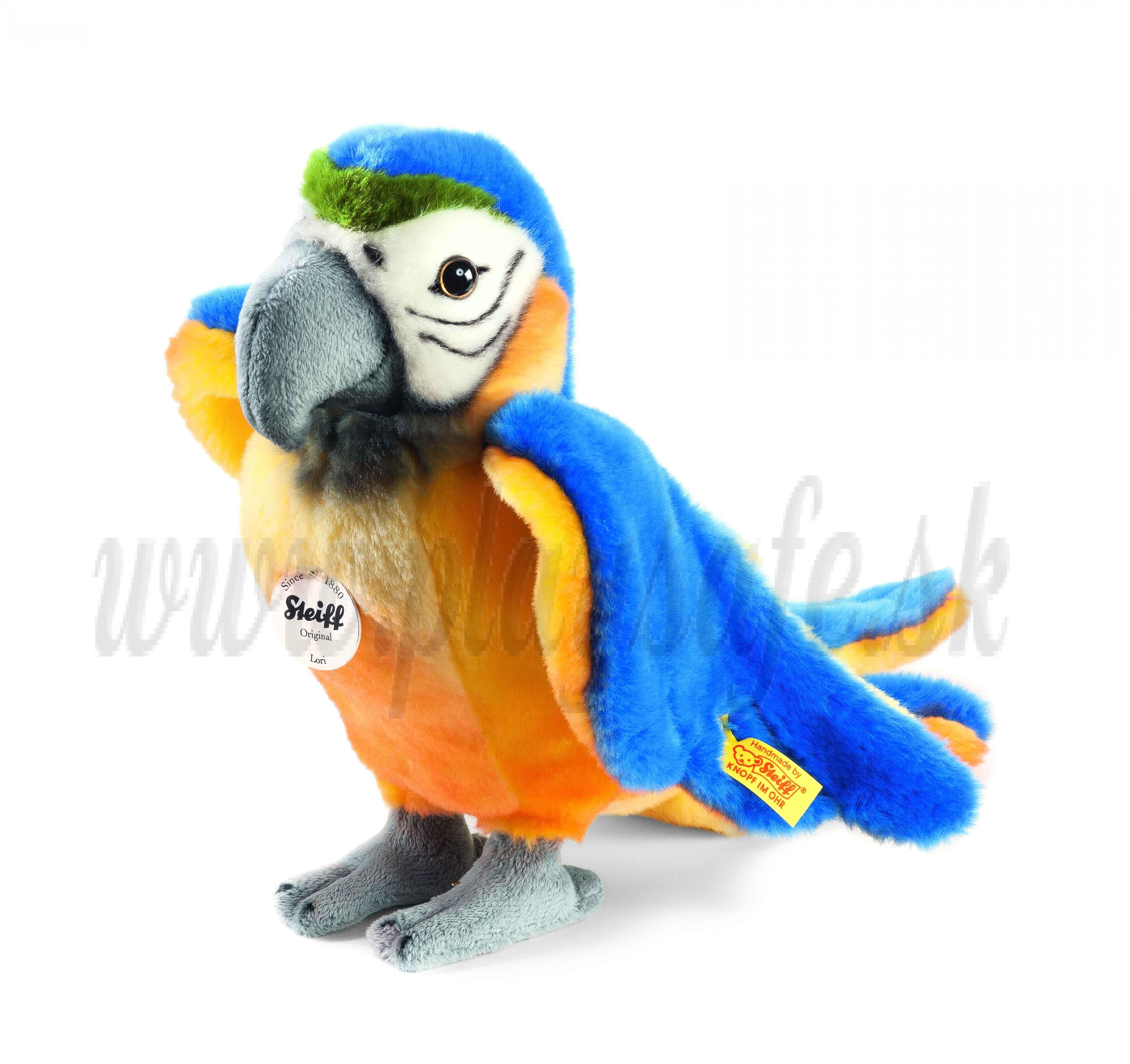 Steiff Soft toy Parrot Lori, 26cm