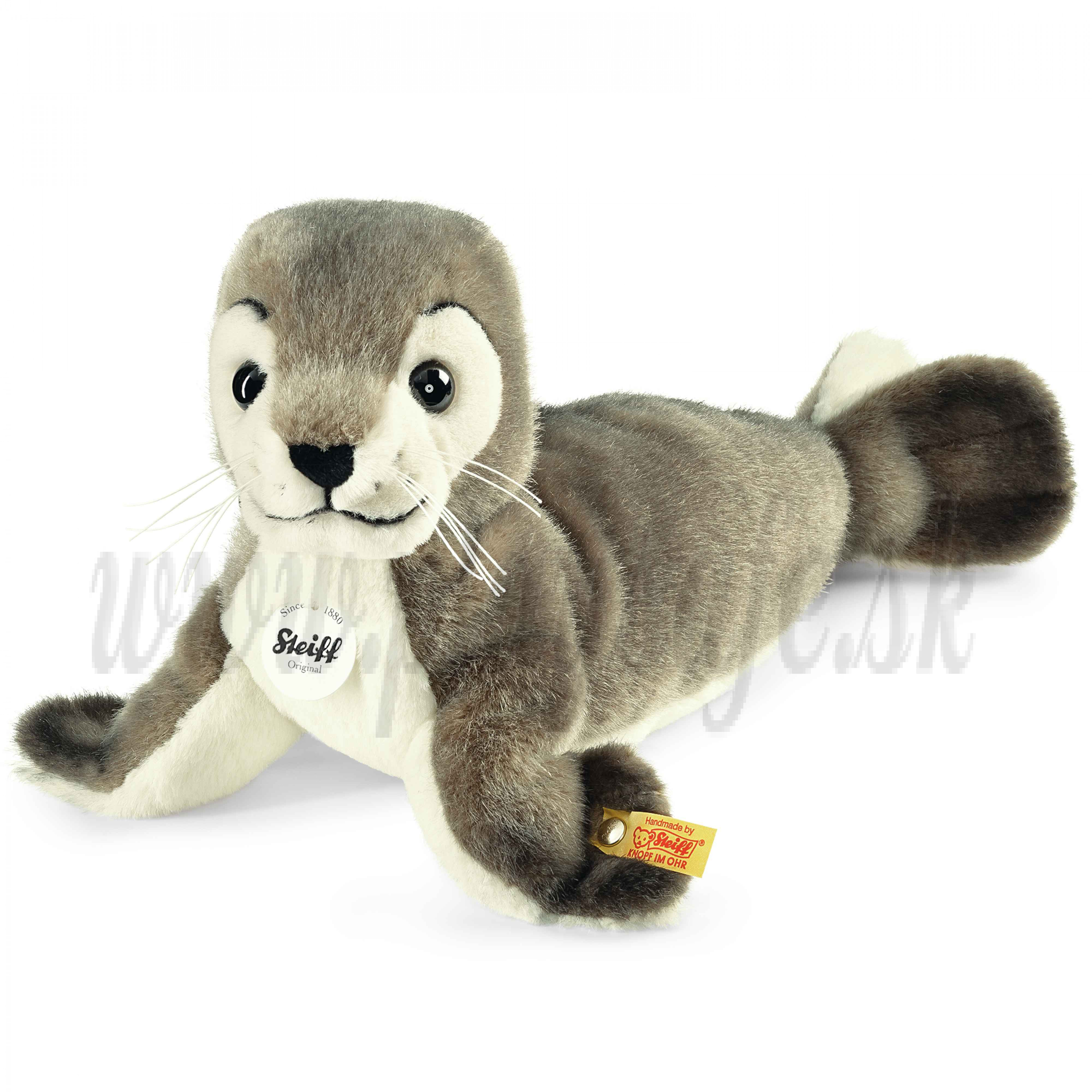 Steiff Soft toy seal Robby, 30cm