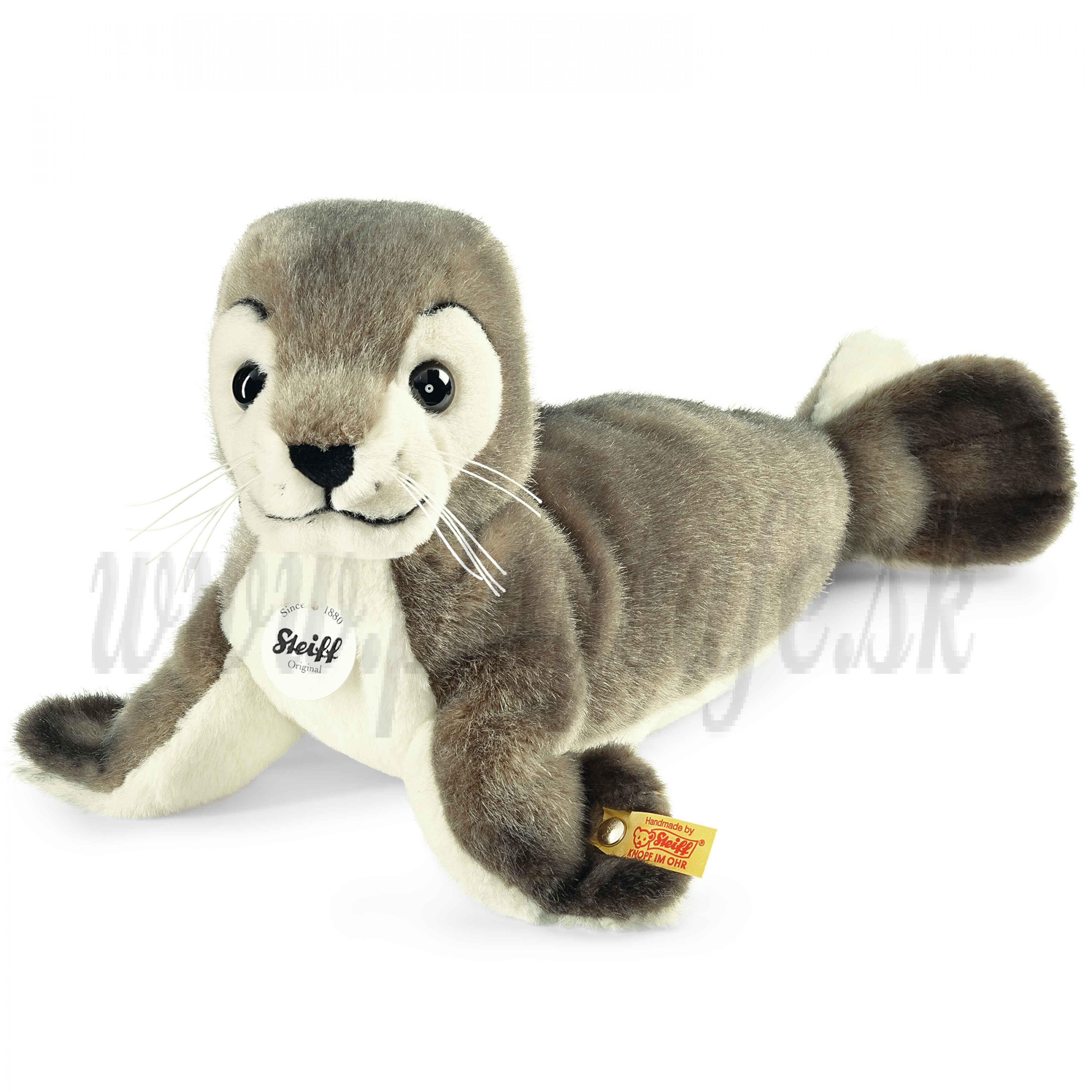 Steiff Soft toy seal Robby, 30cm
