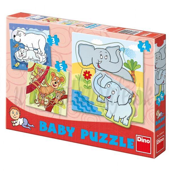 Dino Baby Puzzle ZOO, 3 pieces