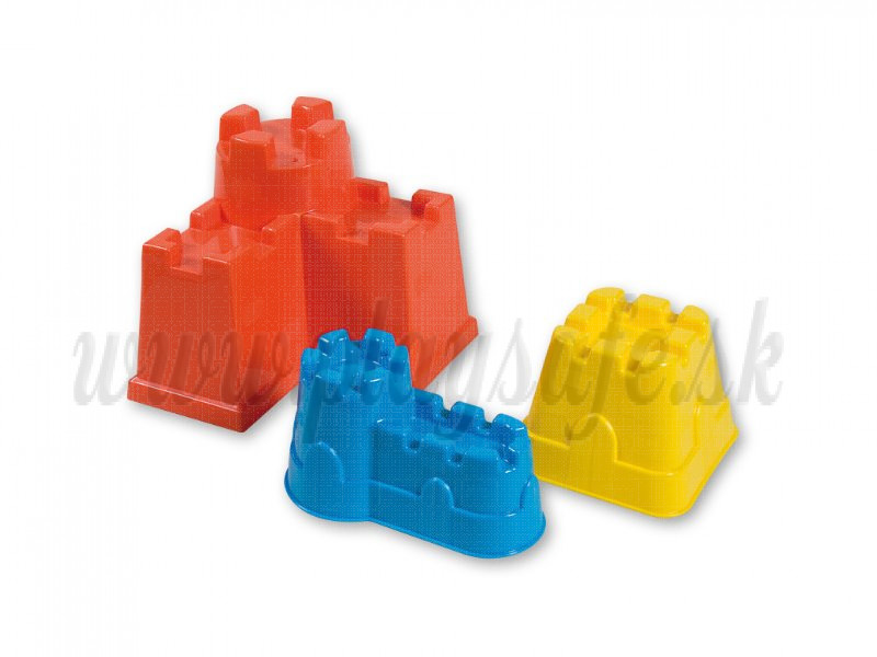 Androni Giocattoli Sand Moulds Castle, 3 pieces