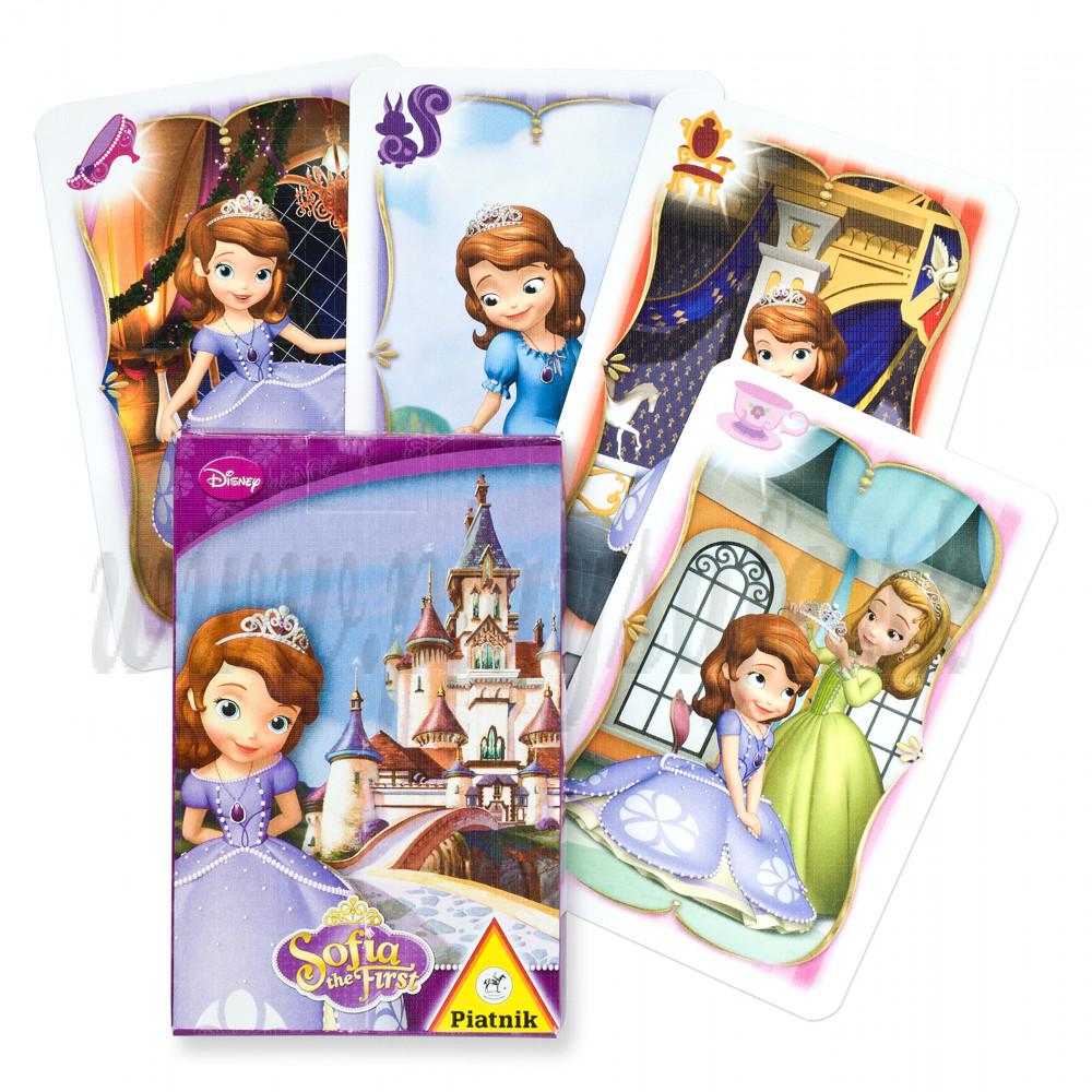 Piatnik Quartett Card Game Disney Sophia