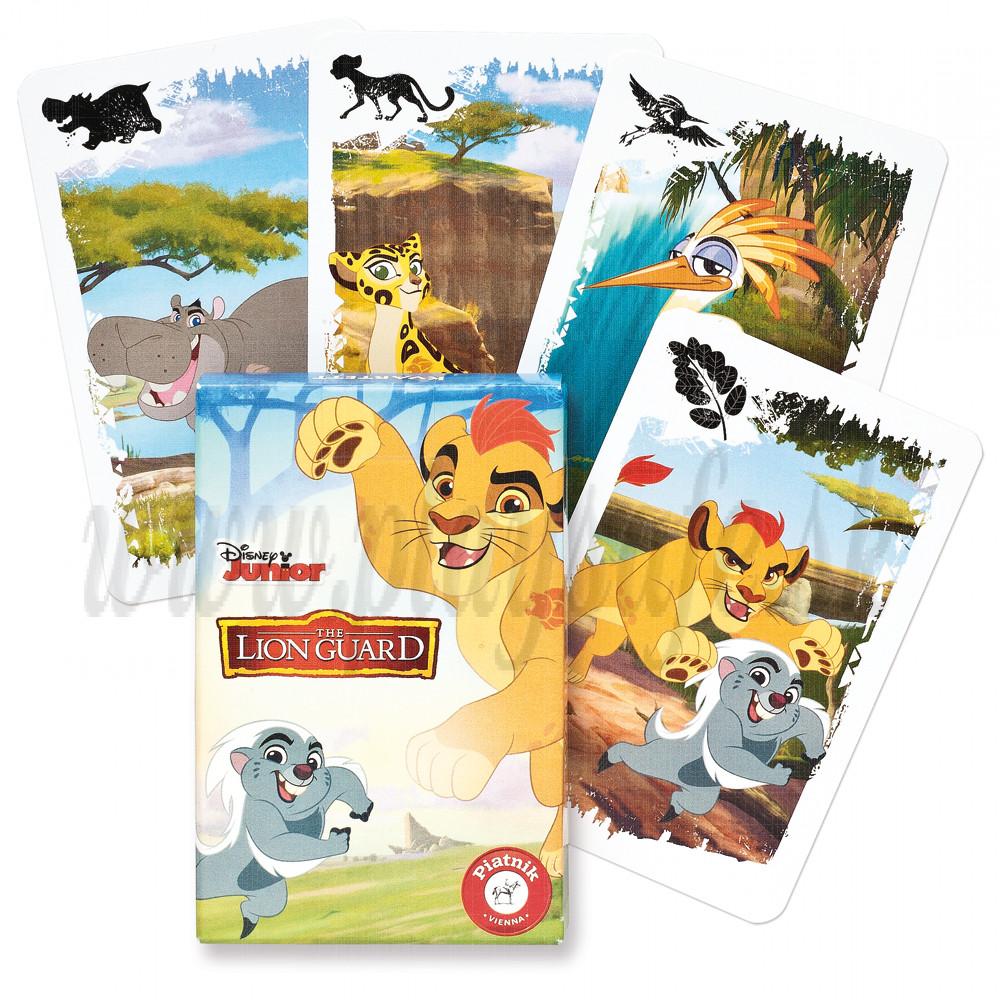 Piatnik Quartett Card Game Disney The Lion Guard