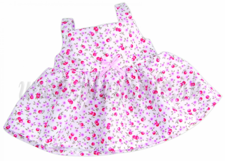 Petitcollin Doll Clothes Coquelicots, 36cm