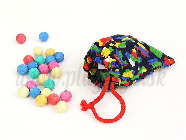 Efko Marbles, 20 pieces in bag