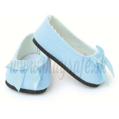 Petitcollin Ballerina, 39/40/44/48 sky blue with knot