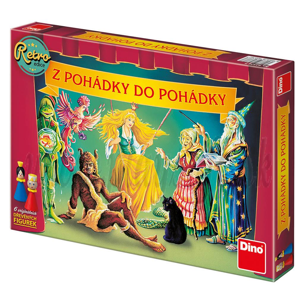 Dino Board Game Fairy Tales retro edition