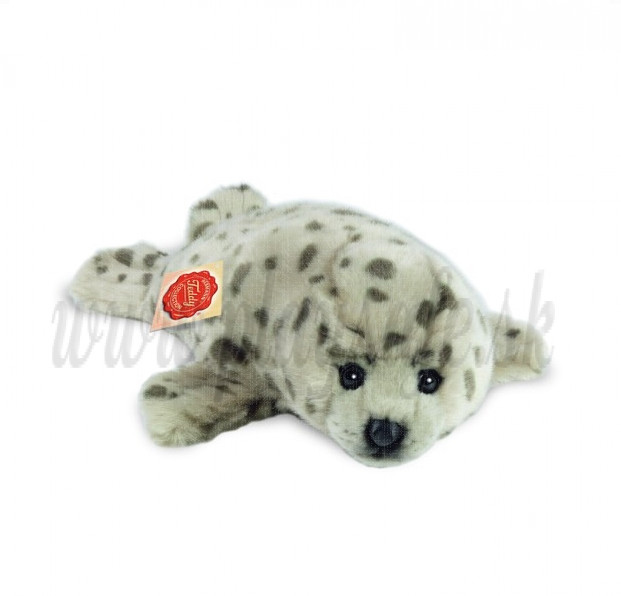 Teddy Hermann Soft toy Baby Seal, 32cm grey