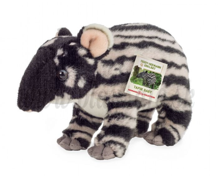 Teddy Hermann Soft toy Tapir baby, 24cm