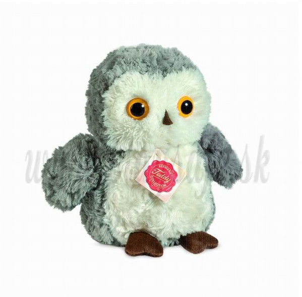 Teddy Hermann Soft toy Owl, 18cm