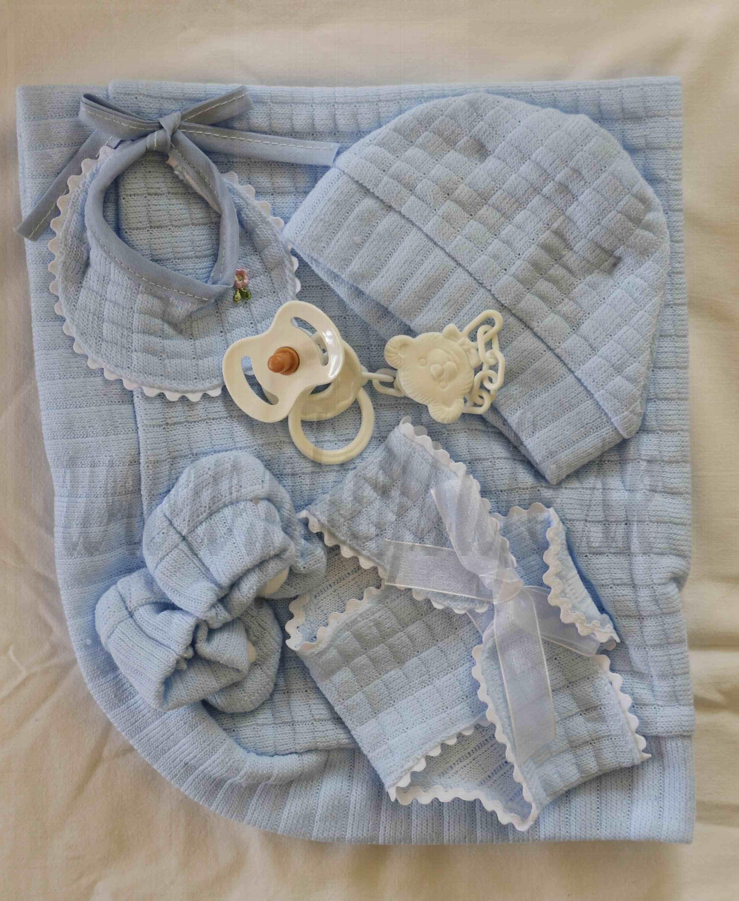 Antonio Juan Baby Doll Accessories Set 40-42cm blue 2