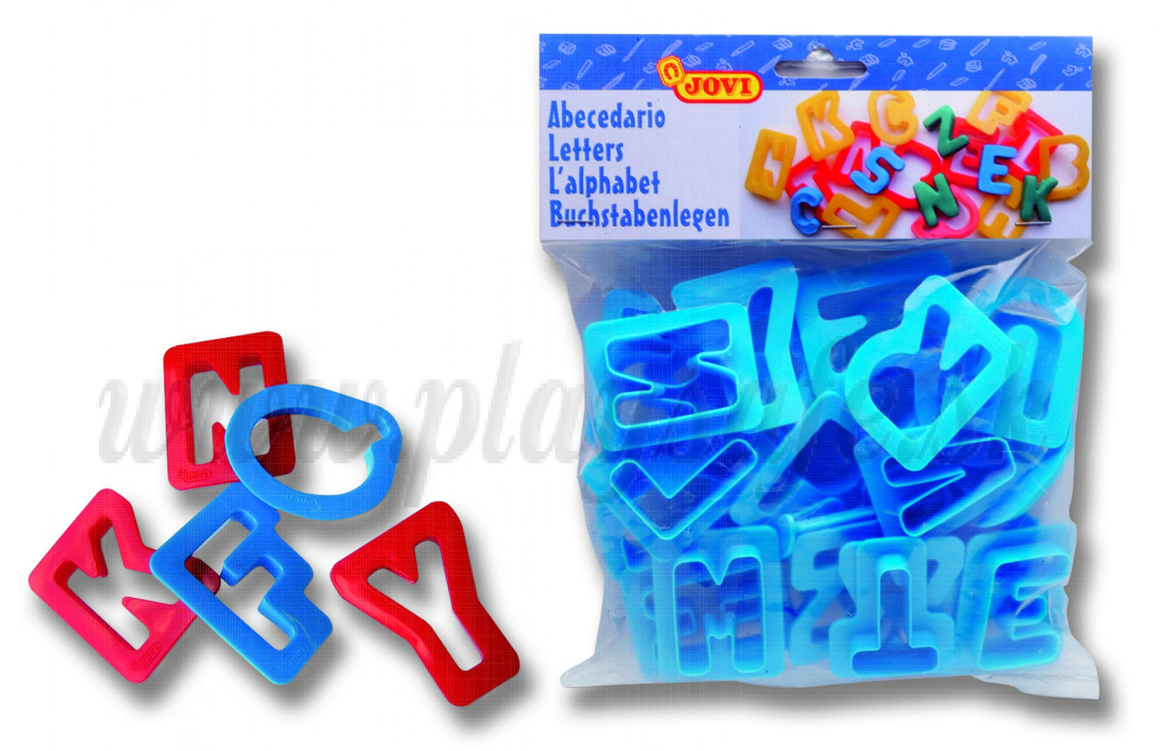 JOVI® Clay Cutters Letters, 24 pieces