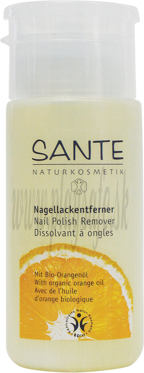 Sante Nail Polish Remover with organic alcohol, 100ml