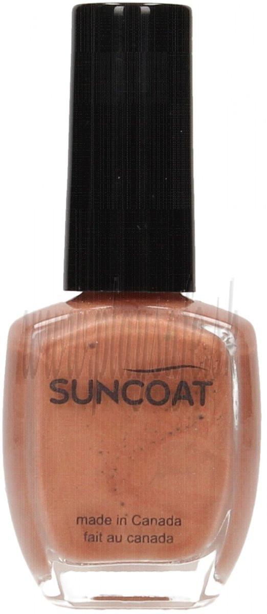 Suncoat Long Lasting Water Based Nail Polish Soft Coral, 11ml