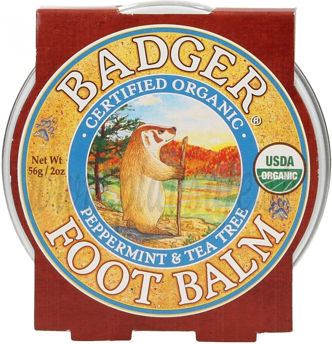 Badger Balm Foot Balm, 56g