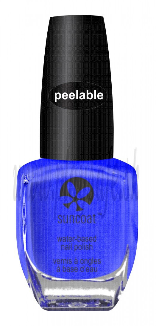 Suncoat Polish & Peel Lovely Lapis (V), 8ml