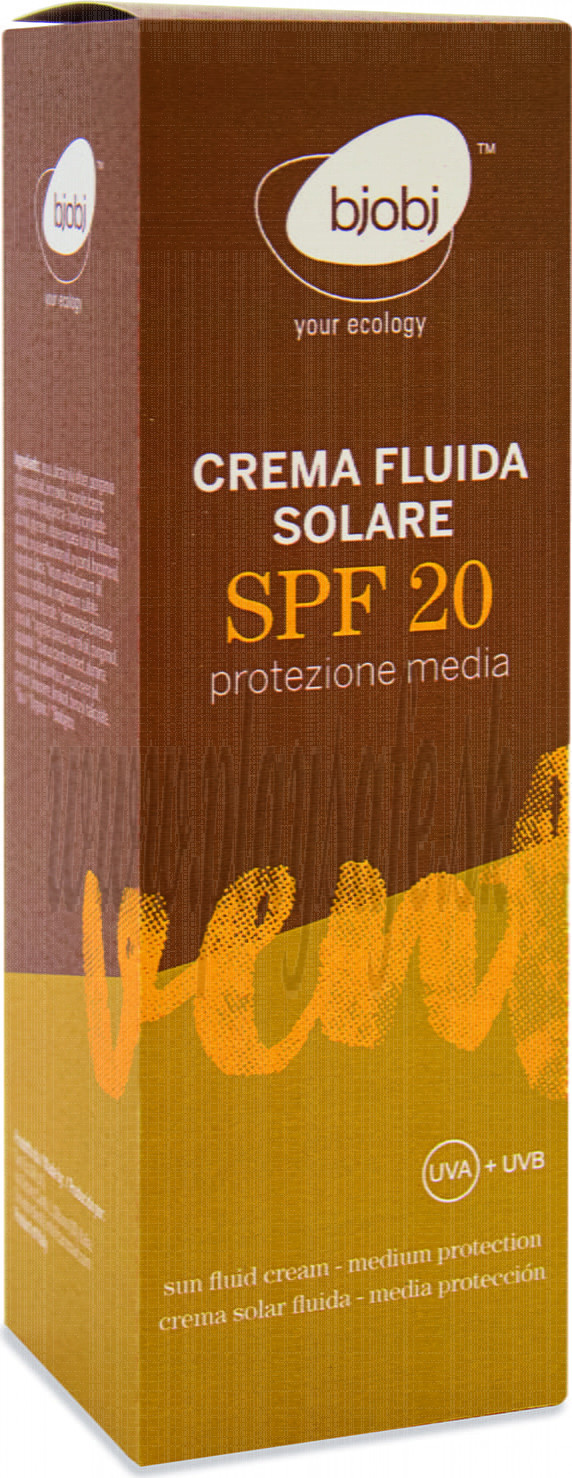 Bjobj Sun Cream Fluid SPF20 , 100ml