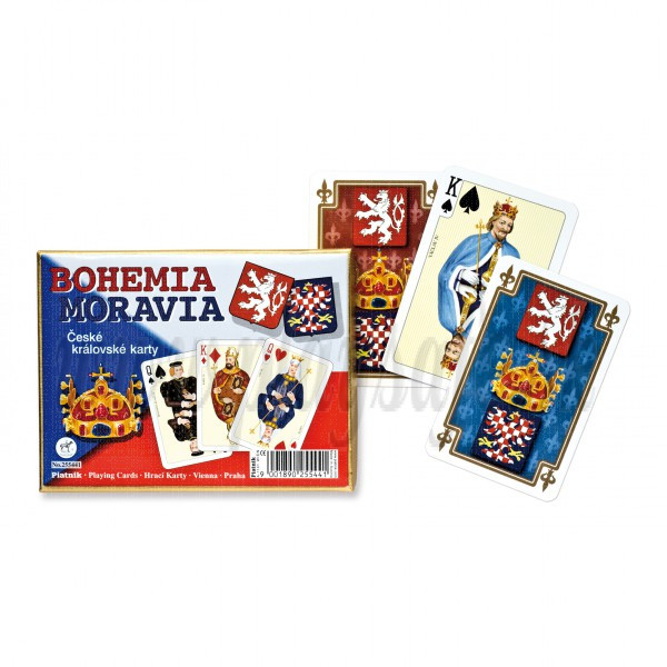 Piatnik Playing Cards Bohemia Moravia Double Deck