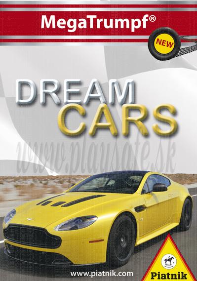 Piatnik Quartett Card Game Dream Cars