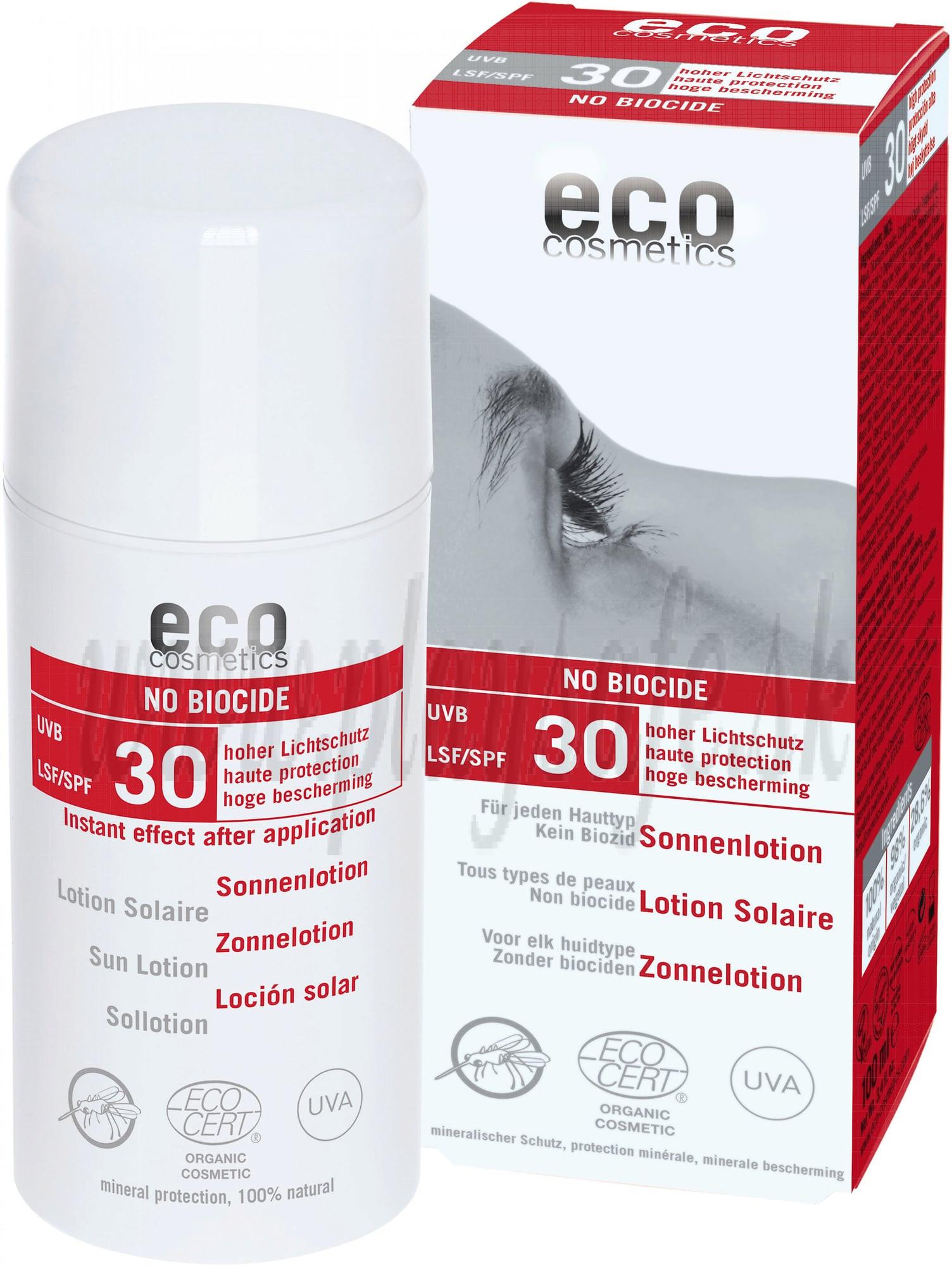 Eco Cosmetics Anti-Mosquito Sunscreen SPF 30 , 100ml