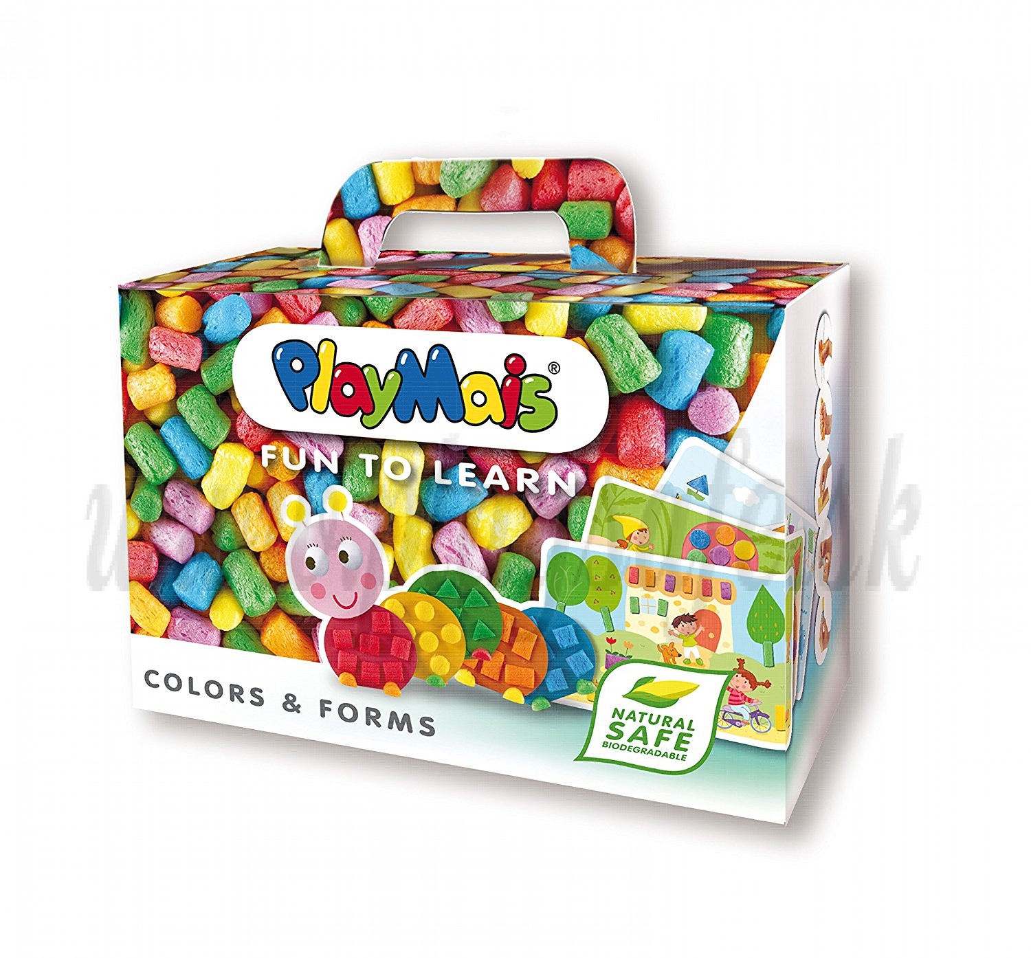 Playmais FUN TO LEARN Colors & Forms Playset, 550 pieces