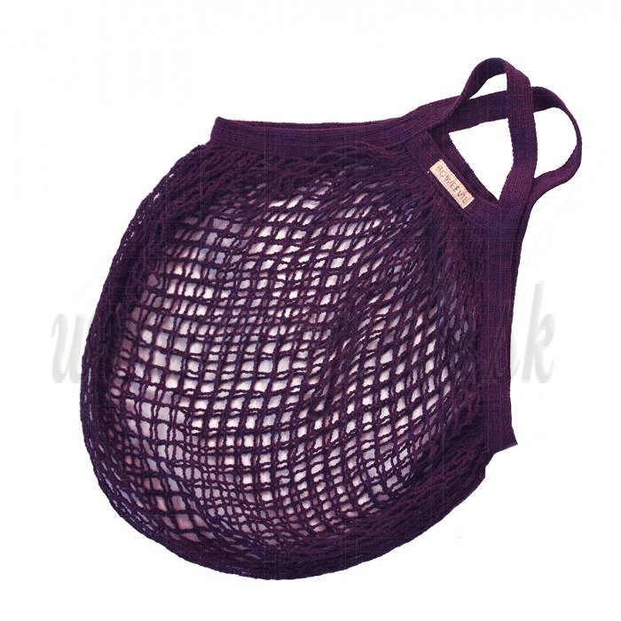 Bo Weevil String Bag plum