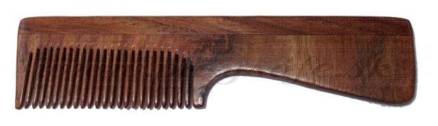 Tierra Verde Rosewood comb with handle