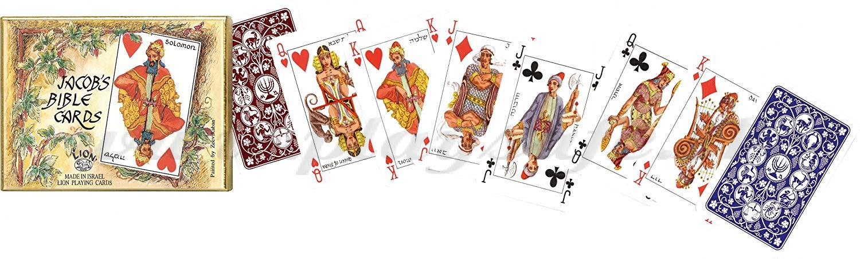 Piatnik Playing Cards Jacob's Bible Cards Double Deck