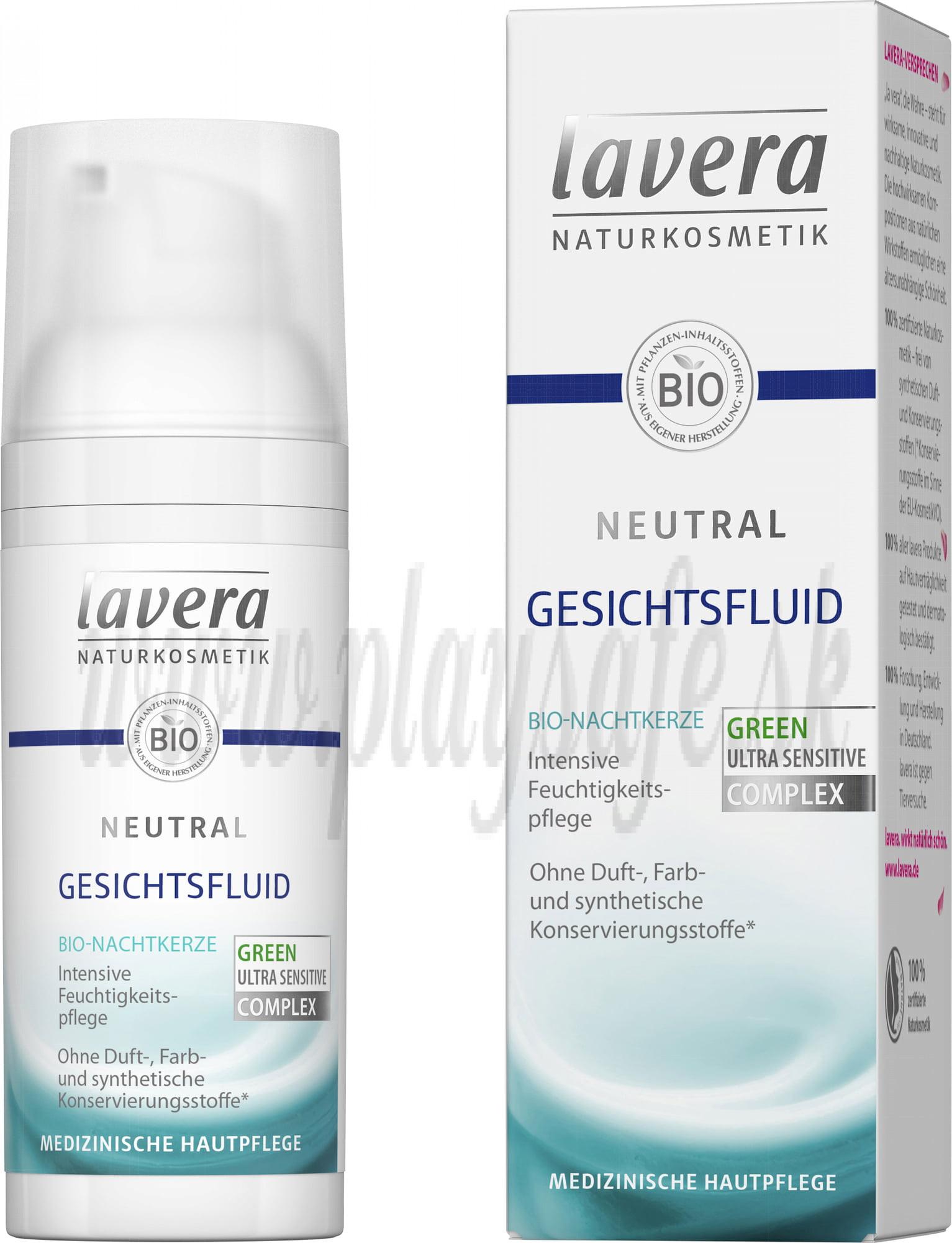 Lavera Neutral Face Fluid, 50ml