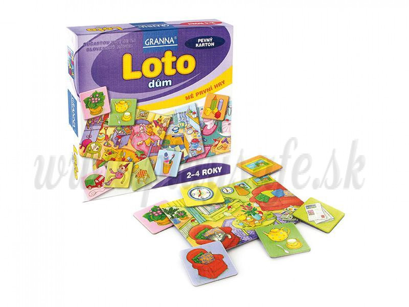 Granna My First Lotto House
