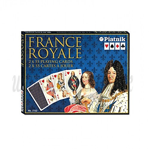 Piatnik Playing Cards France Royale Double Deck