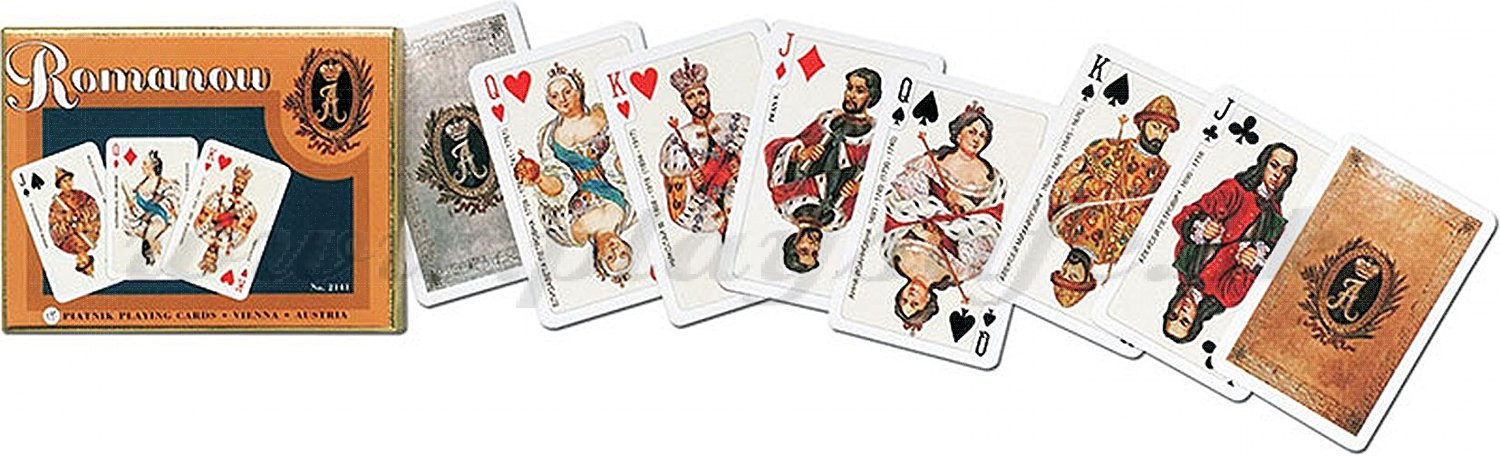 Piatnik Playing Cards Romanov Double Deck