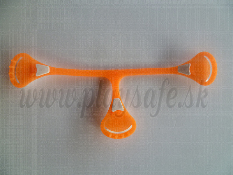 Snappi Fastener orange