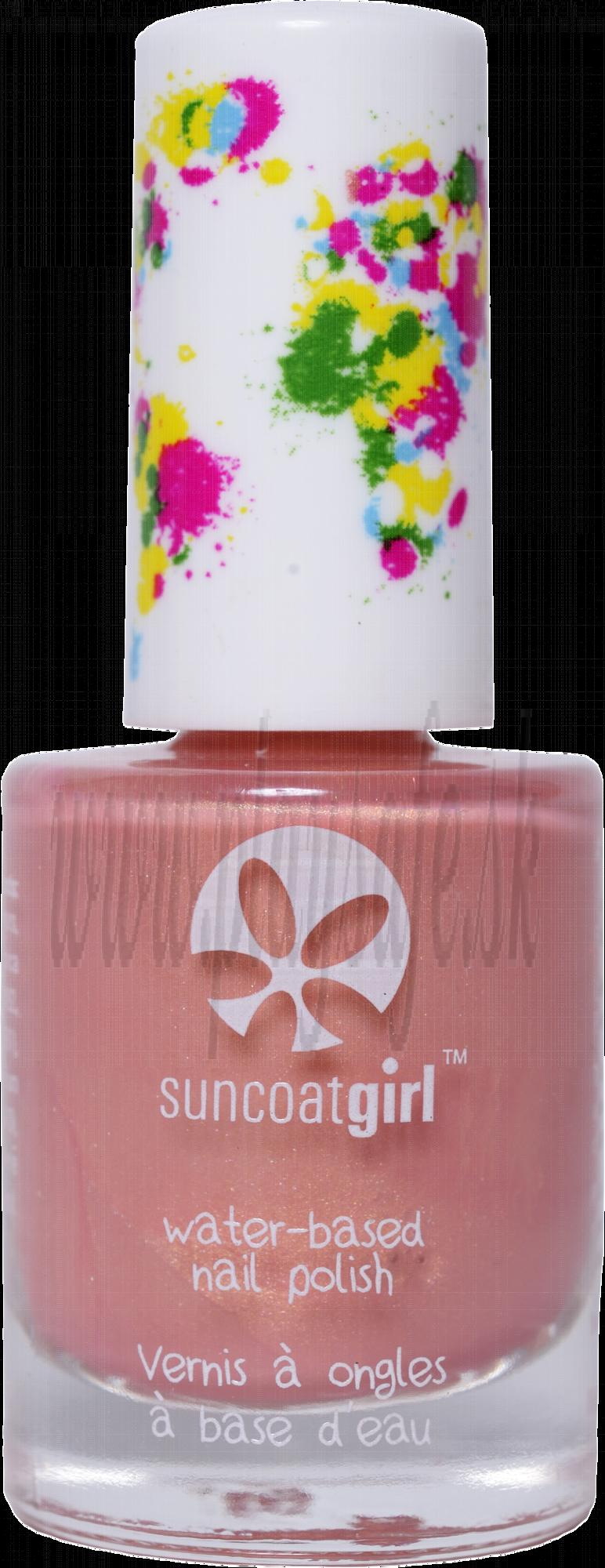 SuncoatGirl Nail Polish Delicious Peach, 9ml