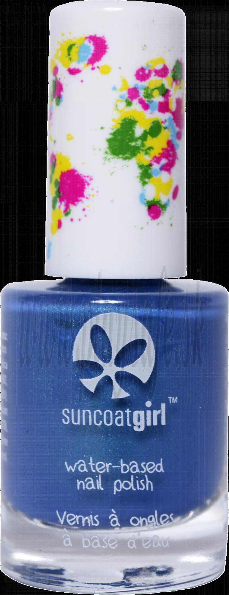 SuncoatGirl Nail Polish Mermaid Blue (V), 9ml