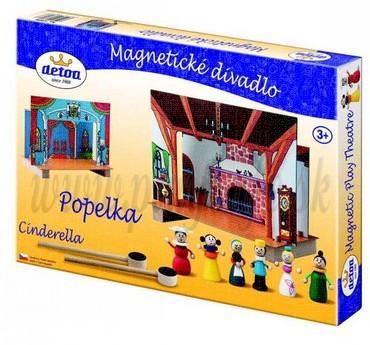 DETOA Wooden Magnetic Theatre Cinderella