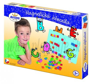 DETOA Wooden Magnetic ABC Game