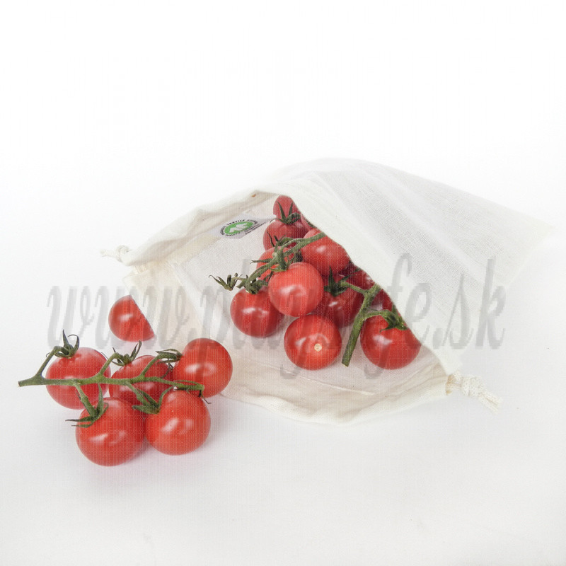 Bo Weevil Organic Fair Trade Cotton Voile bag, 16x18
