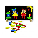 DETOA Wooden Magnetic Puzzle Bears