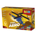 Efko ROTO Construction Set Helicopter, 125 pieces