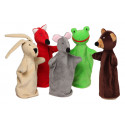 Noe Hand Puppets Little House, 5 pieces