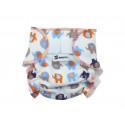 Anavy Cloth Doll Diaper Elephants