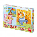 Dino Baby Puzzle Winnie the Pooh, 3 pieces