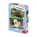 Dino Puzzle Puppies, 2 pieces