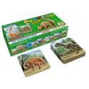 MPF Children Memory MAXI Dinosaurs, 24 pieces