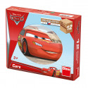 Dino Wooden Picture Blocks Disney's Cars, 12 cubes