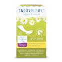 Natracare Organic Cotton Panty Liners Tanga, 30 Pads