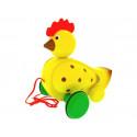 MIVA Vacov Pull-Along Clacking Hen