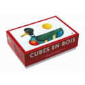TOPA Wooden Picture Blocks Mini, 6 cubes